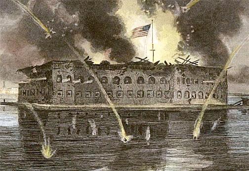 Fort Sumter Bombardment