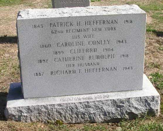 Patrick Heffernan grave