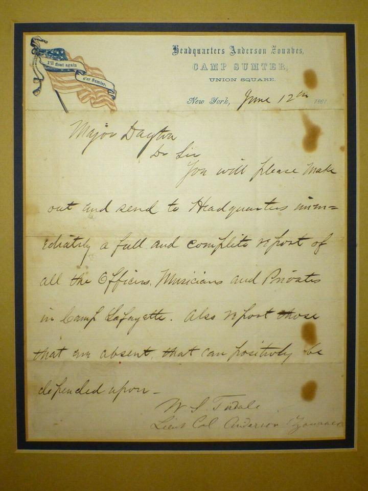 tisdale letter to dayton